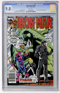 Iron Man #193 (Marvel, 1985) CGC NM/MT 9.8 White pages