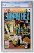 Bronze Age (1970-1979):Western, Jonah Hex #1 (DC, 1977) CGC VF/NM 9.0 Off-white to white pages....