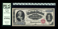 Large Size:Silver Certificates, Fr. 215 $1 1886 Silver Certificate PCGS Superb Gem New 67PPQ....
