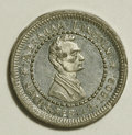 "U.S. Presidents & Statesmen, 1860 ""Wide Awakes"" Lincoln Token...."