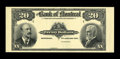 Canadian Currency: , Montreal, PQ- The Bank of Montreal $20 Jan. 3, 1911 Ch. # 505-50-04P Face Proof. ...