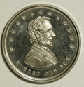 "U.S. Presidents & Statesmen, Select Uncirculated 1864 ""Honest Old Abe"" Medal...."