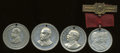 U.S. Presidents & Statesmen, Quartet of Grover Cleveland Presidential Campaign Tokens....(Total: 4 tokens)