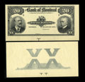 Canadian Currency: , Montreal, PQ- The Bank of Montreal $20 Jan. 2, 1904 Ch. #505-48-06P Face and Back Proofs. ... (Total: 2 notes)