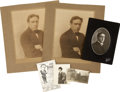 Baseball Collectibles:Photos, Circa 1908 Joe Tinker & Family Photographs Lot of 19, Type 1.Originating from the estate of the early Chicago Cubs Hall of ...