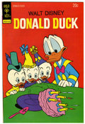 Bronze Age (1970-1979):Cartoon Character, Donald Duck #154 - Signed by Carl Barks (Gold Key, 1974) Condition:NM-....