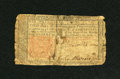 Colonial Notes:New Jersey, New Jersey March 25, 1776 6s Very Good....