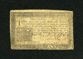 Colonial Notes:Pennsylvania, Pennsylvania March 16, 1785 15s Extremely Fine....