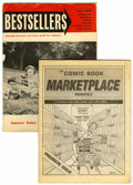 Magazines:Fanzine, Comic Book Marketplace/Bestsellers Group (Gary Carter/News Dealer Magazine, Inc, 1962-91).... (Total: 2 Comic Books)