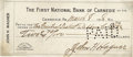 Autographs:Checks, 1918 Honus Wagner Signed Check. Just six months removed from a Hall of Fame playing career that saw the Old Dutchman lead t...