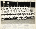 Autographs:Photos, 1962 New York Yankees Team Signed Large Photograph. Only theplayers and staff got one of these photos back in the day, wit...