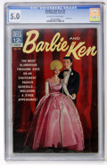 Silver Age (1956-1969):Miscellaneous, Barbie and Ken #5 (Dell, 1964) CGC VG/FN 5.0 Off-white to white pages....