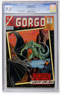 Gorgo #23 Northland pedigree (Charlton, 1965) CGC NM- 9.2 Off-white to white pages