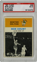 Basketball Cards:Singles (Pre-1970), 1961-62 Fleer Bob Cousy In Action #49 PSA EX 5. The Houdini of theHardwood dazzled basketball fans and peers alike with hi...