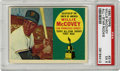Baseball Cards:Singles (1960-1969), 1960 Topps Willie McCovey All-Star Rookie #316 PSA EX 5. Theimposing physically presence of Willie McCovey was a factor fr...