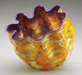 Art Glass:Other , DALE CHIHULY (American, b. 1941). Macchia, 2002. Glass.Signed on base: Chihuly 02. 10-1/2 inches (26.7 cm) high....