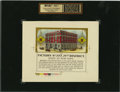 Antique Stone Lithography:Cigar Label Art, Factory No. 227, 21st District, State of New York CigarCaution Label Proof,...