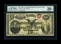 Large Size:Compound Interest Treasury Notes, Fr. 190b $10 1864 Compound Interest Treasury Note PMG Very Fine 20NET....