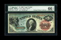 Large Size:Legal Tender Notes, Fr. 18 $1 1869 Legal Tender PMG Gem Uncirculated 66 EPQ....