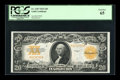 Large Size:Gold Certificates, Fr. 1187 $20 1922 Mule Gold Certificate PCGS Gem New 65....