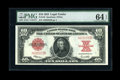 Large Size:Legal Tender Notes, Fr. 123 $10 1923 Legal Tender PMG Choice Uncirculated 64 EPQ....