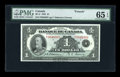 Canadian Currency: , BC-2 $1 1935. ...