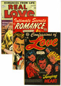 Golden Age (1938-1955):Romance, Miscellaneous Golden Age L. B. Cole Romance Group (VariousPublishers, 1950s) Condition: VG/FN unless otherwise noted....(Total: 6 Comic Books)