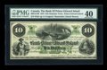 Canadian Currency: , Charlotte Town, PEI- The Bank of Prince Edward Island $10 Jan. 1,1872 Ch. # 600-12-14R. ...