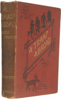 Books:Early Printing, Mark Twain. A Tramp Abroad....