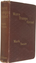 Books:First Editions, Mark Twain. More Tramps Abroad....
