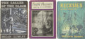 Books:Fiction, Three Arkham House First Editions, including:... (Total: 3 Items)
