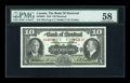 Canadian Currency: , Montreal, PQ- The Bank of Montreal $10 Jan. 2, 1935 Ch. #505-60-04. ...