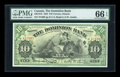 World Paper Money: , Toronto, ON- The Dominion Bank $10 Jan. 2, 1925 Ch. # 220-18-10....