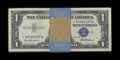Small Size:Silver Certificates, Fr. 1619* $1 1957 Silver Certificates. 82 Examples. Very Choice Crisp Uncirculated.. ... (Total: 82 notes)