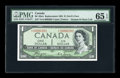 Canadian Currency: , BC-29aA $1 Devil's Face 1954. ...