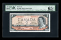 Canadian Currency: , BC-30a $2 Devil's Face 1954. ...