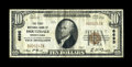 National Bank Notes:Pennsylvania, Houtzdale, PA - $10 1929 Ty. 1 The First NB Ch. # 6695. ...