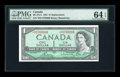 Canadian Currency: , BC-37cA $1 1954. ...
