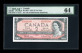 Canadian Currency: , BC-38bT $2 1954. ...
