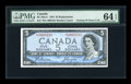 Canadian Currency: , BC-39aA-i $5 1954. ...