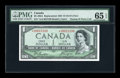 Canadian Currency: , BC-29bA $1 Devil's Face 1954. ...