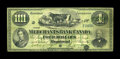 Canadian Currency: , Montreal, PQ- The Merchants Bank of Canada $4 June 2, 1873 Ch. #460-10-08. ...