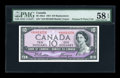 Canadian Currency: , BC-40aA $10 1954. ...