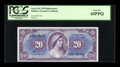 Military Payment Certificates:Series 691, Series 691 $20 Replacement PCGS Gem New 65PPQ....