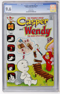Bronze Age (1970-1979):Cartoon Character, Casper and Wendy #2 File Copy (Harvey, 1972) CGC NM+ 9.6 Whitepages....