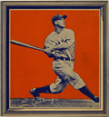 Baseball Cards:Singles (1930-1939), 1935 Wheaties - Series 1 Lou Gehrig. Popular cut-out card from wasreleased on the backs of Wheaties boxes in 1935. This V...