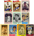 Autographs:Sports Cards, Baseball Stars Signed Trading Cards Group Lot of 69. Many of thefavored stars of yesteryear are present here with this grou...