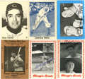 Autographs:Sports Cards, Baseball Stars Signed Trading Cards Group Lot of 75. Fine collection of trading cards focuses on the vintage stars of yester...