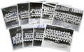 Autographs:Photos, 1941-63 Signed Team Photographs Lot of 18. From the era when NewYork City was home to three major league franchises we pre...