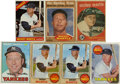 Baseball Cards:Lots, 1959-1969 Topps Baseball Mickey Mantle Collection of 7. New YorkYankees HOF icon Mickey Mantle is featured on seven Topps b...